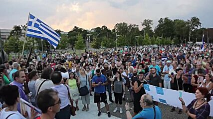 Greece: Protesters rally in Thessaloniki against mandatory vaccinations