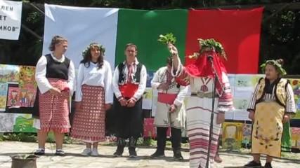 """Възстановка на """" Еньовден """" в изпълнение на фолклорна група """" Житената питка""""- 24.06.2017 г., Витоша"""