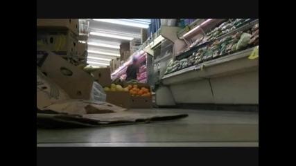 taka se pazaruva v supermarket - jackass