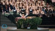 Lady Gaga Kicks Off European Games in Azerbaijan