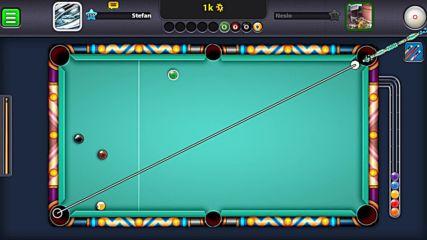 8 ball pool - Как да прецакаш опонента да не знае къде да стреля !
