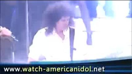 Kris Allen & Adam Lambert - We Are the Champions with Queen American Idol Finale 5.20.2009