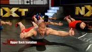 Тренировка с Трите Хикса- загрявка преди тренировка, Tripple H workout- warm up