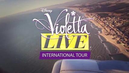 Violetta Live: Белгия и Холандия