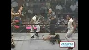 Tnas 1st Match Aj Styles,  Low Ki & Jerry Lynn vs The Flying Elvises