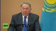 Russia: Putin and Kazakh President Nazarbayev talk trade and agriculture in Sochi