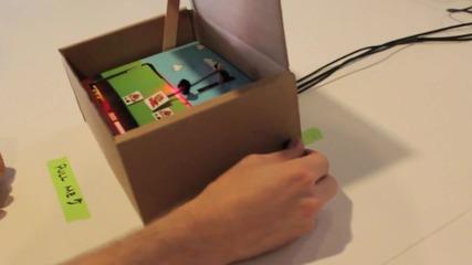 Видео игра в кутия ( Супер Марио )