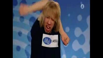 Swedish Idol - Участникът Е Напушен