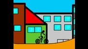Stick On A Bike 1 Анимация [godman]