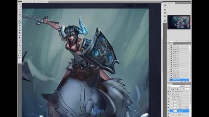 League of Legends - Sejuani Art Spotlight