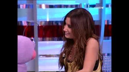 Ashley Tisdale en El Hormiguero Part1/3