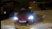 Toyota Gt 86. Първият сняг падна в Нижни Новгород