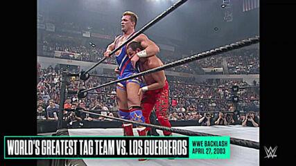 Rare WWE Backlash matches: WWE Playlist