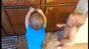 Бебешка стрелба с прашки