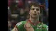 България - Русия Трети Гейм