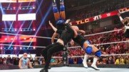 Kurt Angle, Health Slater and others deliver brutal steel chair strikes to Baron Corbin: WWE TLC 2018 (WWE Network Exclu