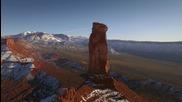 Световен рекорд по ходене на въже в пустиня в американския щат Юта
