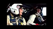 Колин МакРий Тества Impreza WRC07 И Porsche 911