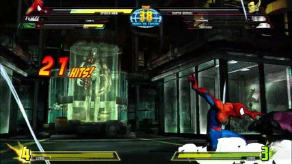 Marvel vs Capcom 3: Ftw Spider - Man Trailer Hd