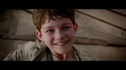 Hugh Jackman, Rooney Mara, Cara Delevingne in 'Pan ' First Trailer