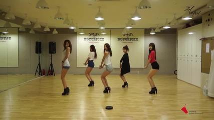Exid (이엑스아이디)] 위아래 안무 연습 영상 Dance
