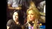 Anahi en 1noticias en final de Rebelde