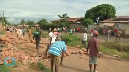 Red Cross: One Civilian Is Dead In Latest Burundi Protests