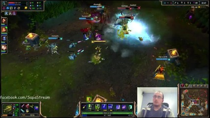 League of Legends игра с Twitch Ranked