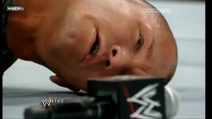 Raw - 22 юни 2010... Острието прави копие на Ренди Ортън