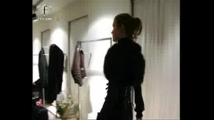 Fashion Tv - Fashion Video Now Playing - Balizza autunno inverno 2007 - 2008 fitting Milano