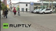 Germany: Footage shows VW dealership on day emissions scandal causes share plunge
