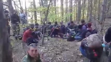ГРАЖДАНСКИ АРЕСТ: 23-ма бежанци заловени на границата