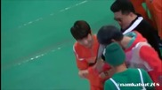 [fancam] 130128 Infinite Woohyun vs B.a.p Zelo Rock Paper Scissors Game