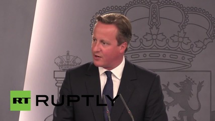 Spain: Cameron will respond