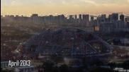 В Сингапур Построиха Стадион С Най-големият Подвижен Купол