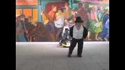 mini Michael Jackson (crazy)