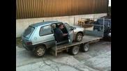 Как руснаците разтоварват кола - Смях