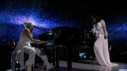 Nicki Minaj ft. Skylar Grey - Bed of Lies ( 2014 American Music Awards )