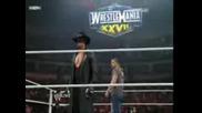 Triple h се завръща Raw 21.02.11