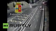 Italy: Drunk driver kills two after travelling in wrong direction on Naples highway