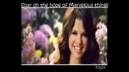 Selena Gomez - Fly To Your Heart ~ With Lyrics