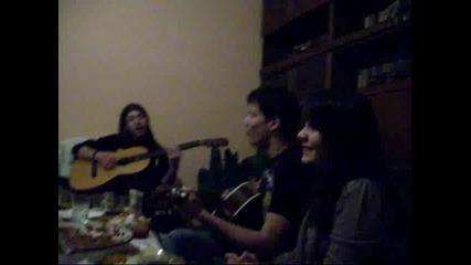 Nova Godina 2010 - ala nqmash men (acoustic cover)