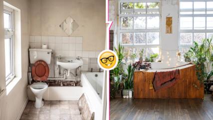 Как да преобразите скучната баня, за да се превърне в бижу