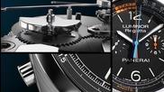Часовник за професионалисти: Luminor 1950 Regatta 3 Days Chrono Flyback Automatic Titanio
