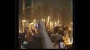 Чудо Схождение - Благодатният Огън - 18.04.2009 г.