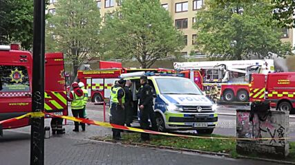 Sweden: First responders at site of explosion in Gothenburg, about 25 taken to hospital