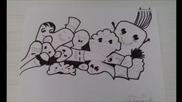 Рисувай с мен - Моите Doodle art рисунки