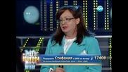 Стефания Колева като Ваня Костова - Като две капки вода - 17.03.2014 г.