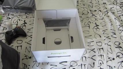 Xbox 360 Slim 4gb Unboxing & Setup