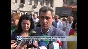 """Лекарите от """"Пирогов"""" първи излязоха на протест срещу Здравната каса"""